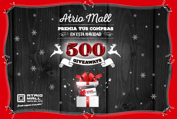 Atrio Mall Premia Tus Compras en esta navidad